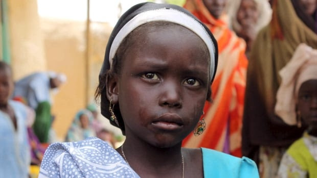 In November 2014, 400 women and children were abducted in the remote Nigerian border town of Damasak. The kidnapping garnered far less attention than the 276 school girls taken from Chilbok seven months earlier. This young girl managed to avoid the Damasak kidnapping.