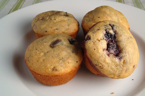 Healthy Fruited Muffins