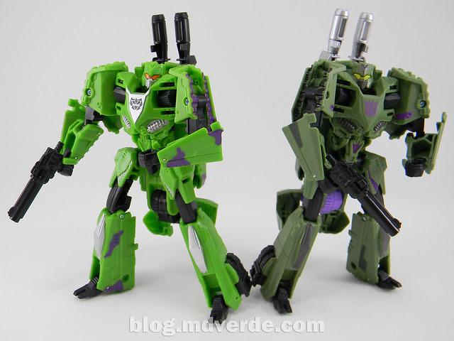 Transformers Brawl Deluxe - G2 Fall of Cybertron - modo robot vs SDCC