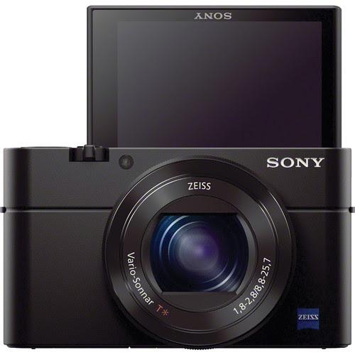Sony Cybershot DSC-RX100 III Digital Camera - Selfie Mode