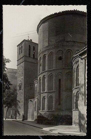 Iglesia de Santiago del Arrabal a principios del siglo XX. Foto Arribas