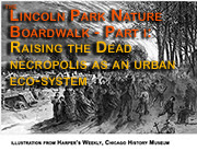 Studio/Gang and the new Lincoln Park Nature Boardwalk. Part One: Raising the Dead - Necropolis as an urban ecosystem.