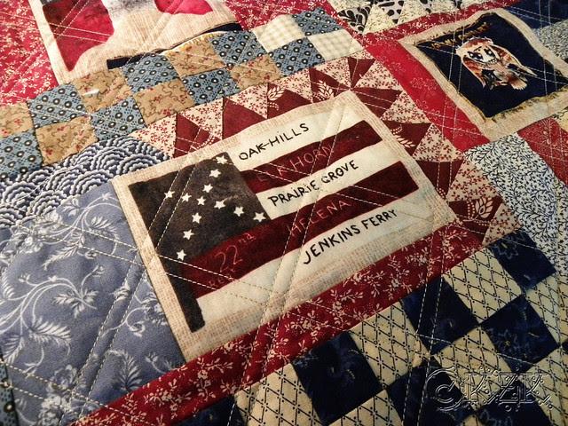 DSCN1987 Gettysburg Battle Flag quilt