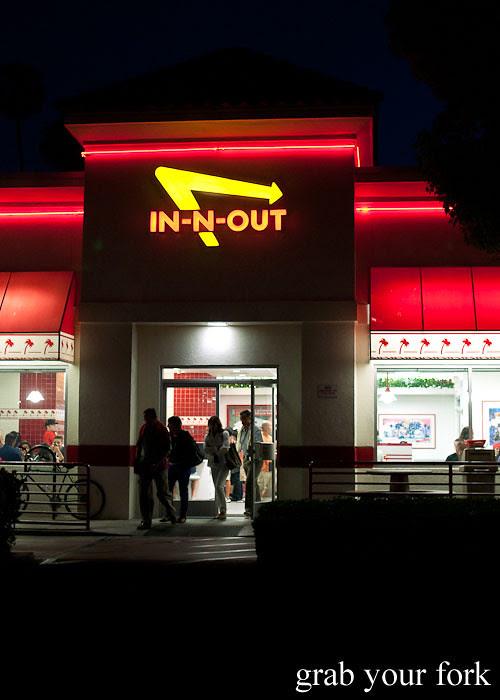 in-n-out burger la los angeles american fast food