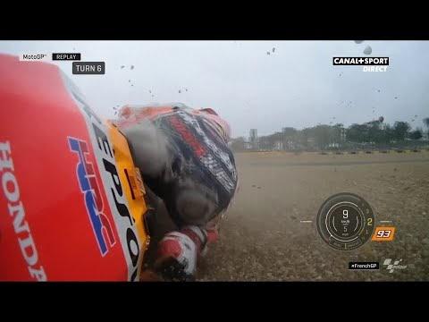Meski Crash, Marc Marquez Raih Pole: Rossi di Posisi Ke-5