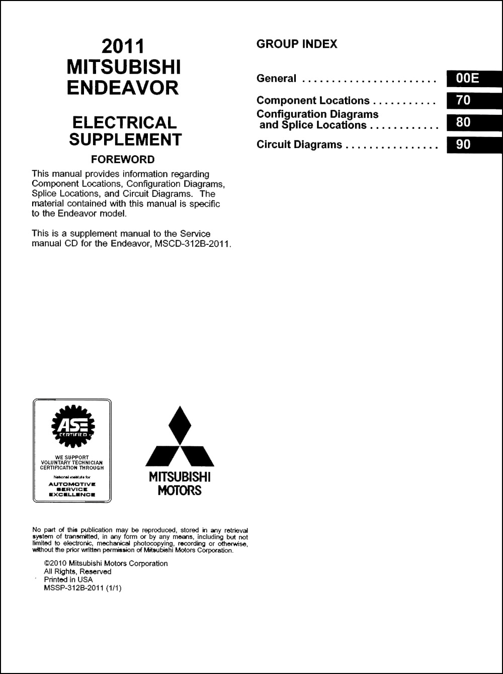 Diagram 2007 Mitsubishi Endeavor Wiring Diagram Manual Original Full Version Hd Quality Manual Original Pdfxreiffx Dabliusound It