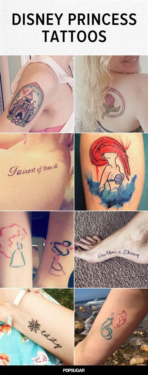 disney princess tattoos fairest