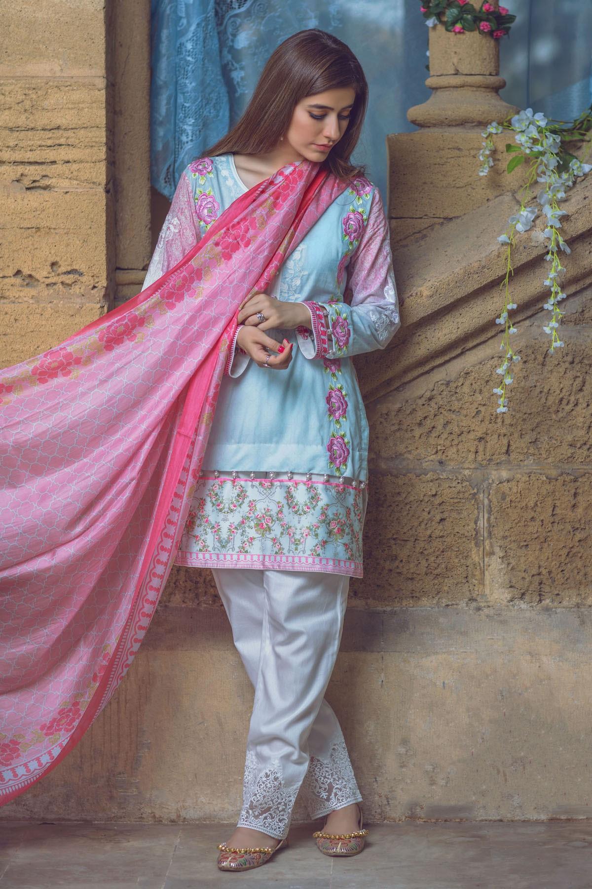 AlKaram Eid Dresses Festival Collection 2016-2017
