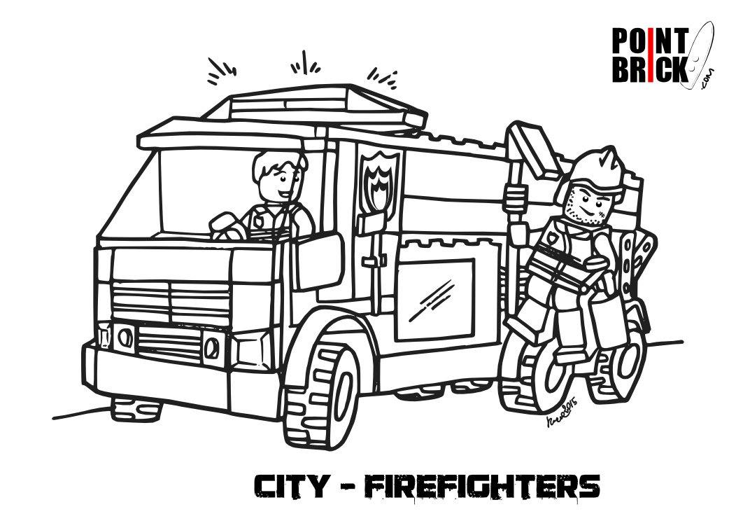 Disegni Da Colorare Lego City Polizia Stampae Colorare