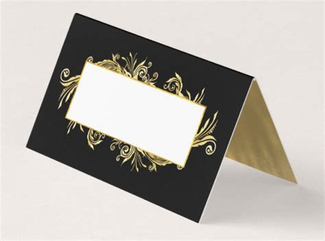 14  Table Place Card Designs & Templates   PSD, AI