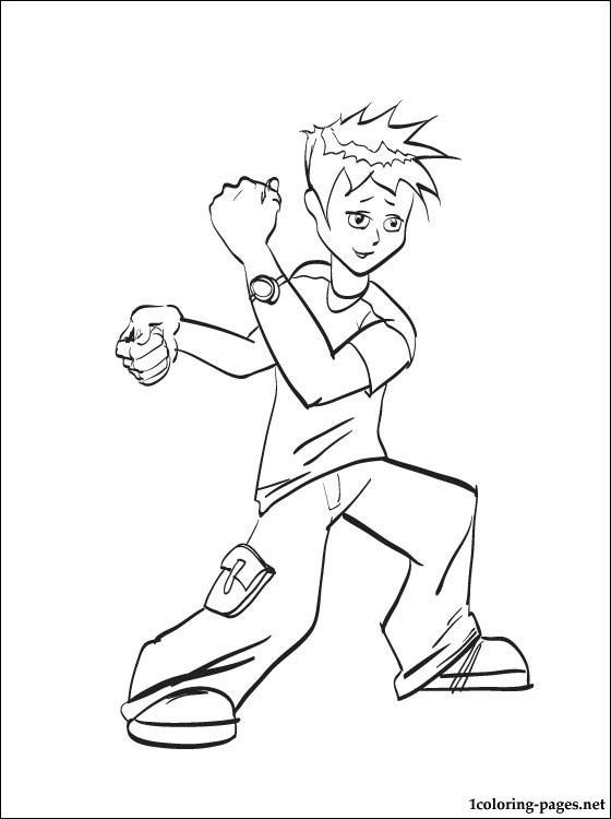 Ben 10 Coloring Book For Boys Coloring Pages