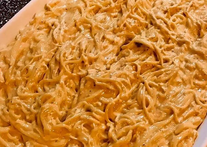 Recipe of Any-night-of-the-week Easy Cheesy Baked Chicken Spaghetti
