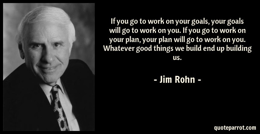 If You Go To Work On Your Goals Your Goals Will Go To By Jim