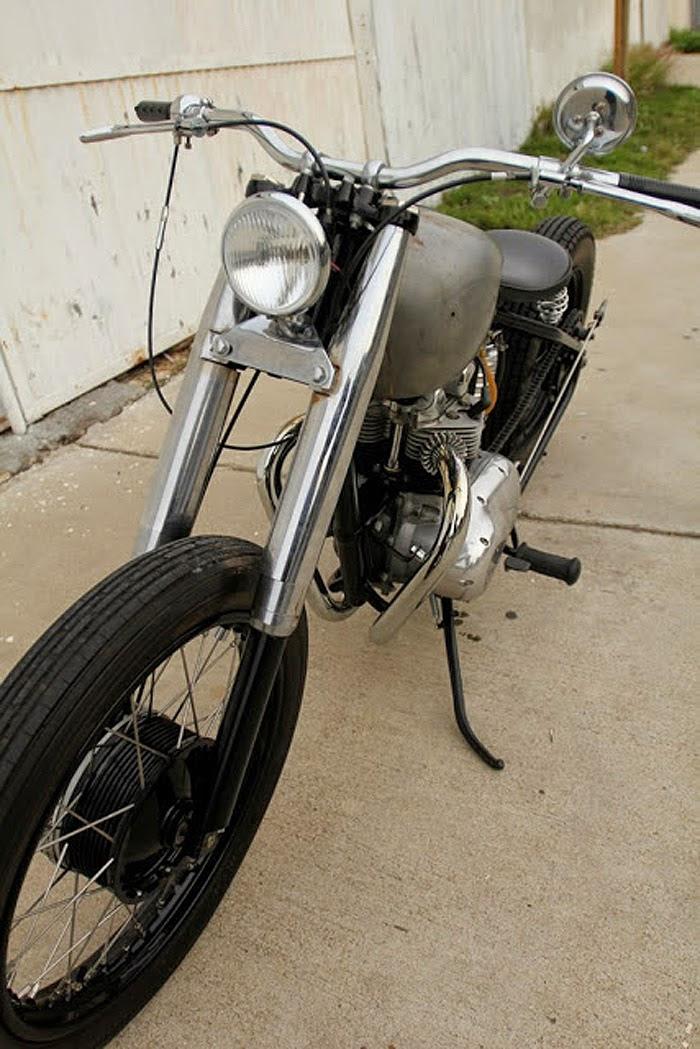 For Sale :: 1968 T100C Triumph Bobber - The Bullitt