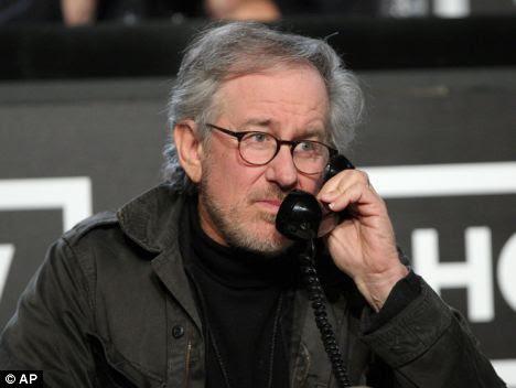Master of his art: Steven Spielberg's latest directorial piece is Terra Nova