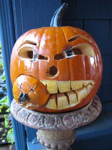 T's pumpkin