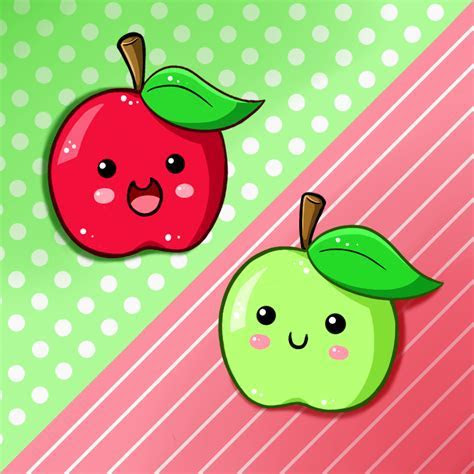 Cute Food  Apples by PPGxRRB FAN on DeviantArt