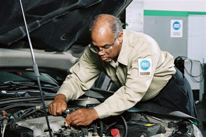 Auto Technician It takes a lot of time and continuing education to become a master technician, a position that can pull down a salary approaching or even exceeding six figures.