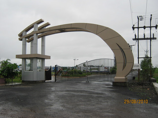 Entrance gate of Elite Homes Tathawade Wakad Pune