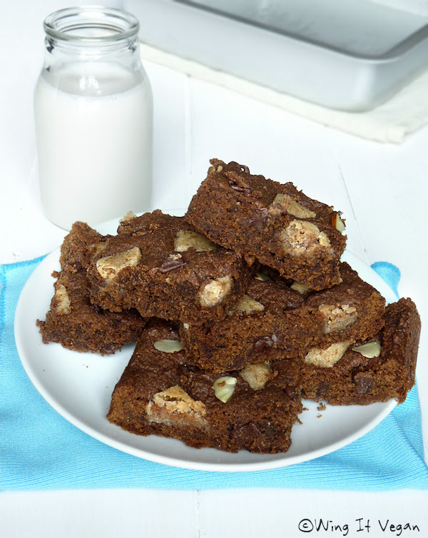 Chocolate-Almond Squares
