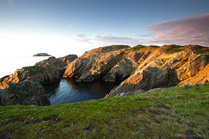 Cape Bonavista, Newfoundland at sunset