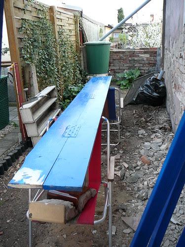 Bretter für Wetterschutz/Dachkante