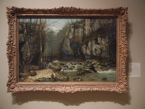 DSCN7812 _ Stream of the Puits-Noir at Ornans, c. 1867-1868, Gustave Courbet (1819-1877), Norton Simon Museum, July 2013