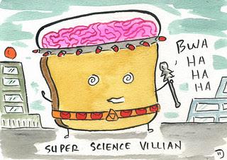 Super Science Villian