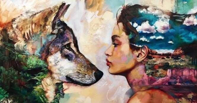 Esta jovem incrivelmente talentosa pinta as imagens mais impressionantes que você já viu