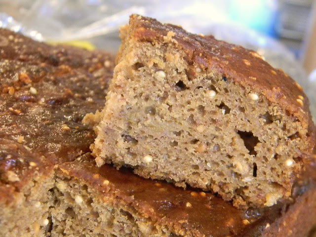 Butterscotch Banana Birdseed Bars