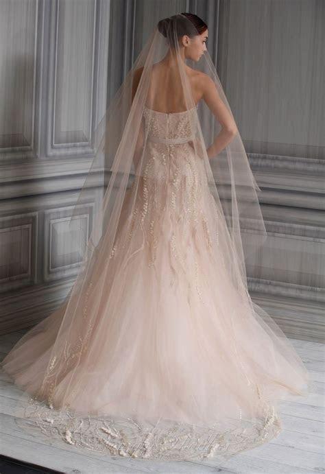 1000  ideas about Blush Wedding Gowns on Pinterest   Blush