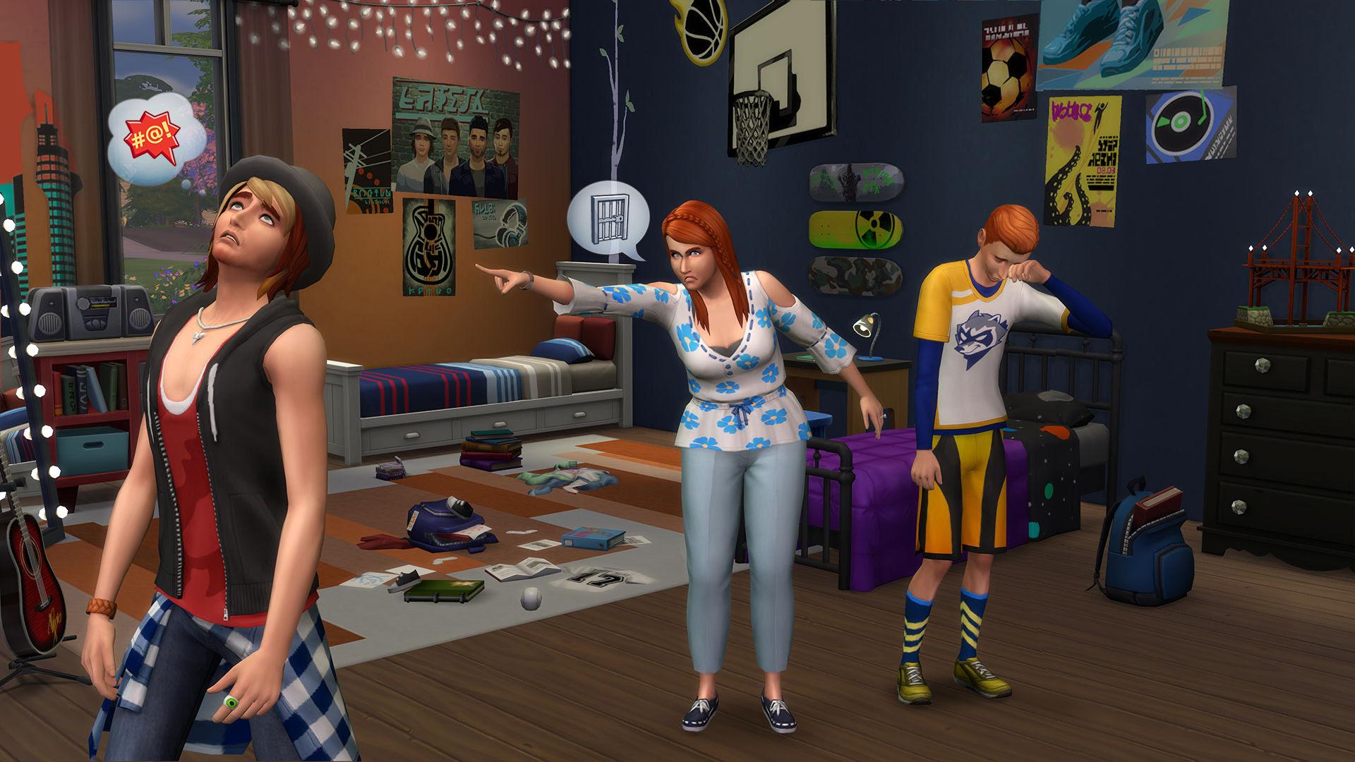Review: The Sims 4: Parenthood screenshot