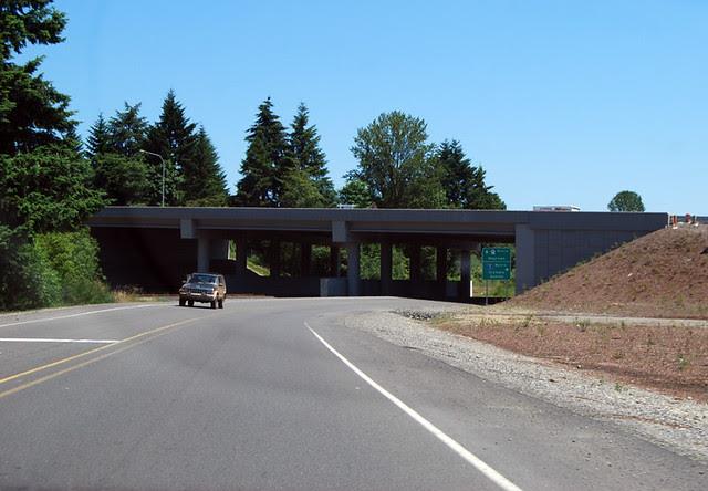 SR 121 @ I-5 southward