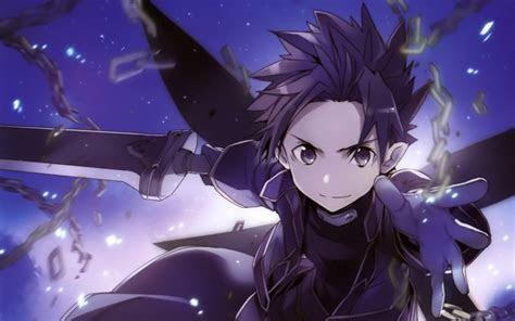 Desktop Wallpaper Kirito, Sword Art Online, Anime, Sao, Hd