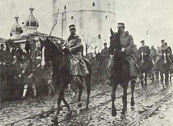 Η είσοδος του Βασιλιά Γεώργιου στη Θεσσαλονίκη