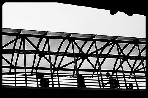 The Bandra  Skywalk .. Where Only a Few Kids Women Walk..For Older Folks It Is A Deadlock by firoze shakir photographerno1