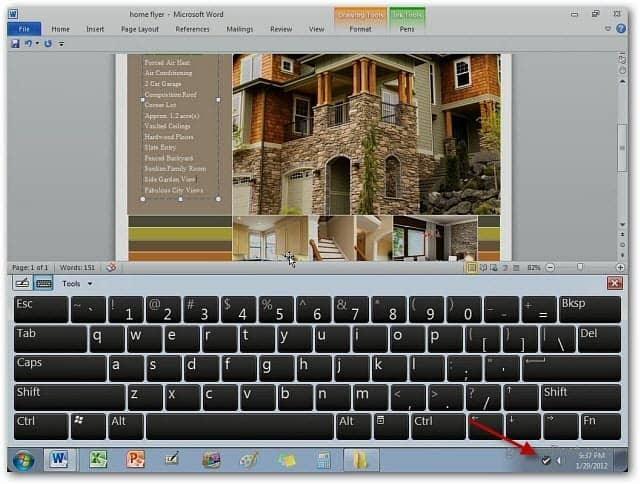 Word Work iPad