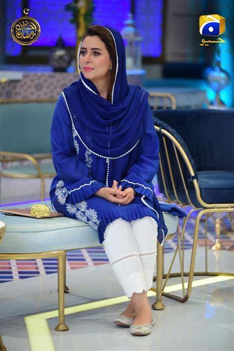 Beautiful Host Rabia Anum with Celebrities Guest in Geo Tv