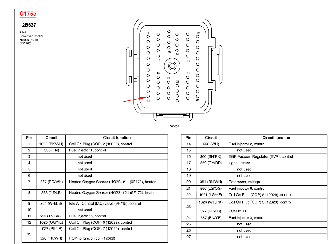 Schematics And Diagrams  How To Test Pcm  Power Control