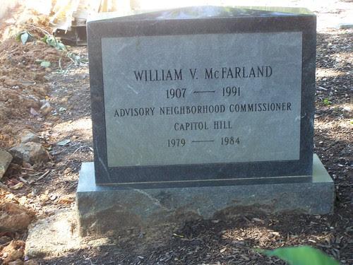 Gravestone, Congressional Cemetery