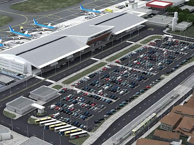 Em 3 meses, obras de ampliação do aeroporto de Cuiabá avançaram 2,6%