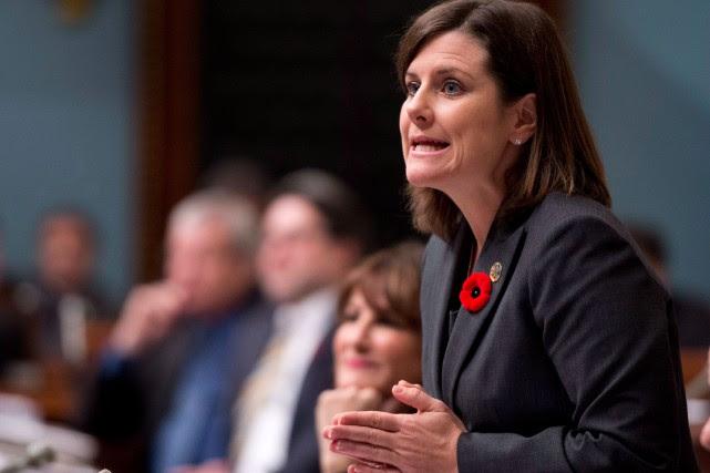 Stéphanie Vallée, ministre de la Justice, a affirmé... (PhotoJacques Boissinot, archives La Presse Canadienne)
