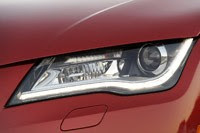 2012 Audi A7 3.0T headlight