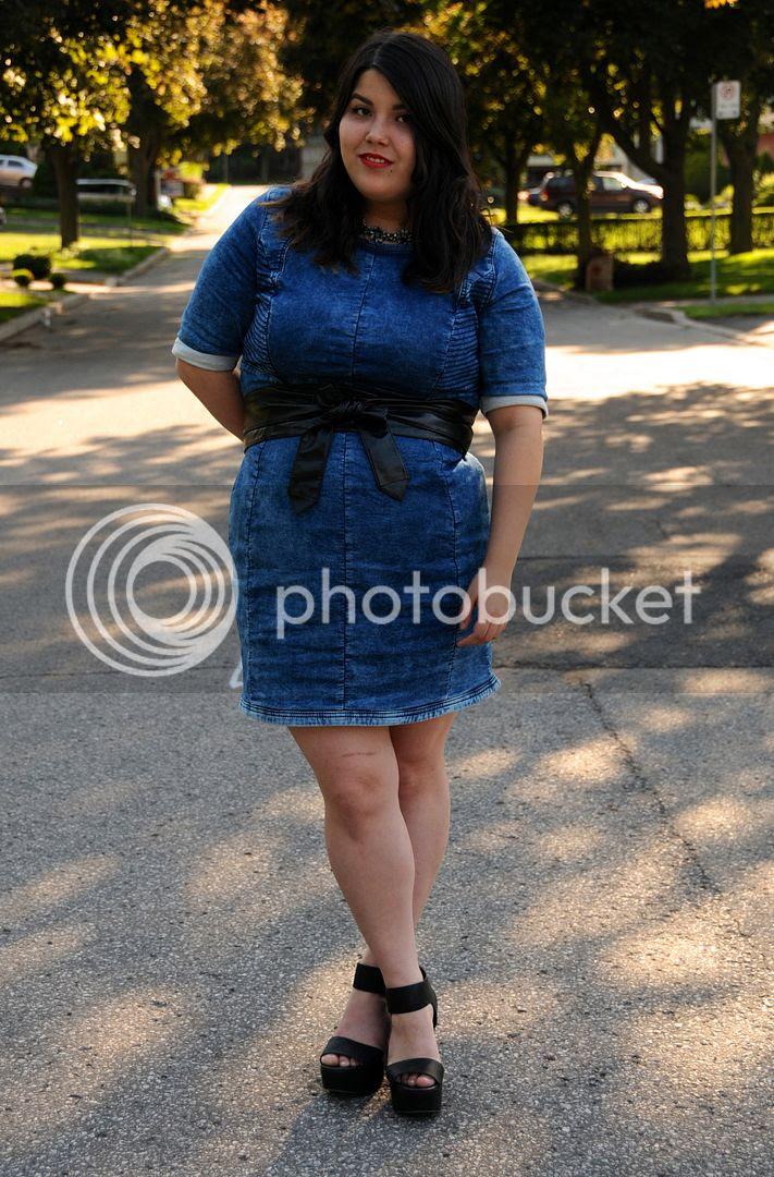 Carmakoma Kadina Dress plus size fashion toronto canada