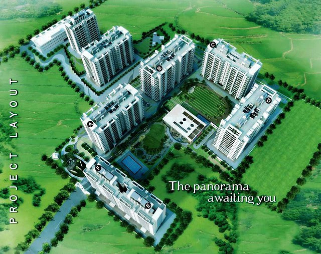 Pebbles II by Abhinav Group & Rainbow Housing, 2 BHK & 3 BHK Flats, behind DSK Toyota Showroom, at Bavdhan Budruk, Pune 411021 - Layout Plan