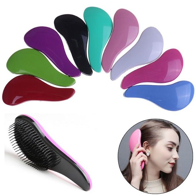 Hot popular hair brush, detangler brush, tangle brush selling all over world , no tangle hair brush
