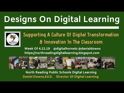 "Welcome to ""Designs On Digital Learning"" for the week of April 22nd"