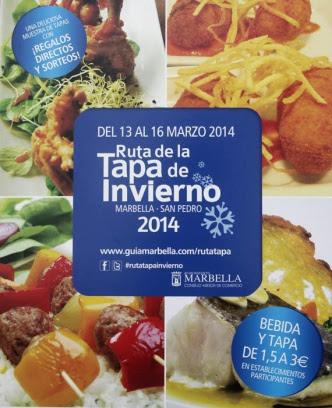 La Ruta de la Tapa de Invierno celebra su quinta edición con la participación de cerca de 60 establecimientos de todo el municipio