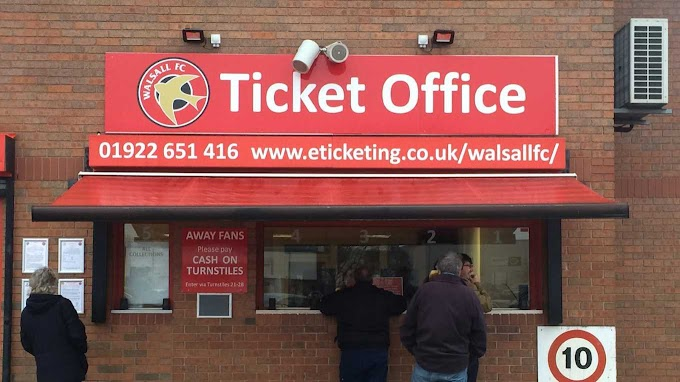 Tickets & Travel: v Port Vale (A)
