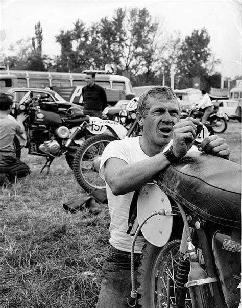 McQueen repairs | My Style | Moto, Motos, Steve McQueen